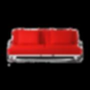 Sofabett SQUARE von BRÜHL in klarem Design auf grazilem Chromrahmen verwandelt sich von der Sitz- und Loungeposition bis zur Liegefläche von 130 x 200 cm. Die Rückenlehne ist verstellbar für zwölf Positionen. Bezugsstoffe in frischen Farben oder dezent, abzieh- und auswechselbar.