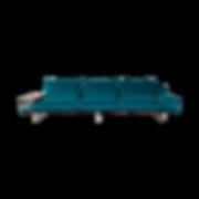 CUBE AIR von IP DESIGN verbindet zwei Charaktere, wie sie scheinbar unterschied-licher nicht sein können: Luftige Leichtigkeit und voluminöse Weichheit. Der filigran-elegante Unterbau erzeugt den Eindruck vom Schweben. Die dicken Kissen versprechen Gemütlichkeit und strahlen moderne Lässigkeit aus. Zusammen bilden sie Ihre private Lounge-Zone! Zahlreiche Beistelltische und unterschiedliche Armlehnen sind der ausdrucksstarke Lidstrich von CUBE AIR. In der Sofalinie lässt sich die Armlehne und das Rückenteile umbauen. Somit ist man uneingeschränkt und kann ggf. sein Sofa frei umgestalten.