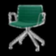 CATIFA 53 von ARPER ist das Pendant zu CATIFA 46 mit breiterer Sitzfläche. Ein Stuhl, der nicht nur bequem und für viele Zwecke einsetzbar, sondern auch äußerst flexibel in der Farbgestaltung ist. Die Serie CATIFA 53 sowie CATIFA 46 ist besonders als Esszimmer- oder Bürostuhl, optional höhenverstellbar mit Gasdruckfeder, einsetzbar.