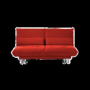 Das trendige Zweier-Sofa QUINT von BRÜHL passt sich spontan vielen Raumsituationen an und wird im Handumdrehen zum Doppelbett. Leichtes handling durch bewährten Ziehharmonikaauszug zur Liegefläche von 155 x 200 cm. Entspannende Kissen im Lendenbereich. Wahlweise abziehbar oder fest verpolstert.