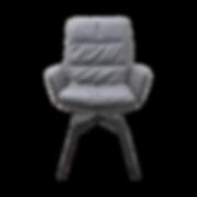 Ein legerer Wohlfühl-Stuhl der sich jedem Körpermass anpasst. Der ARVA Stuhl ist als Hoch- und Niedriglehner erhältlich.    Verschiedene Gestelle sowie Metalloberflächen möglich. Ebenfalls ist der Stuhl drehbar erhältlich. Weiter kann er mit oder ohne Armlehnen gewählt werden.