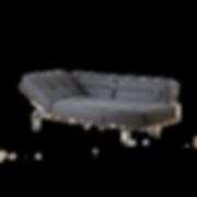 Durch einfaches Zurücklappen der Rückenkissen ist JERRY von BRÜHL schnell zu einem komfortablen Bett verwandelt (Schlafmaß 170 x 212 cm). Die Seitenlehnen können hochgestellt werden, so dass sich eine bequeme Liegeposition ergibt. Durch die filigrane, dennoch markante Form findet JERRY in vielen Räumen einen Platz.