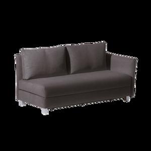 Mit GIORGIO bleibt alles in Bewegung. Ein Modell, welches sich auf vielfältige Weise zum Schlafen, Sitzen und Relaxen umfunktionieren lässt. Drei Sitzbreiten sorgen für unterschiedliche Liegeflächen, welche wahlweise mit oder ohne klappbaren Armlehnen kombiniert werden können. Auf Wunsch bietet FRANZ FERTIG die Bezüge komplett abziehbar.