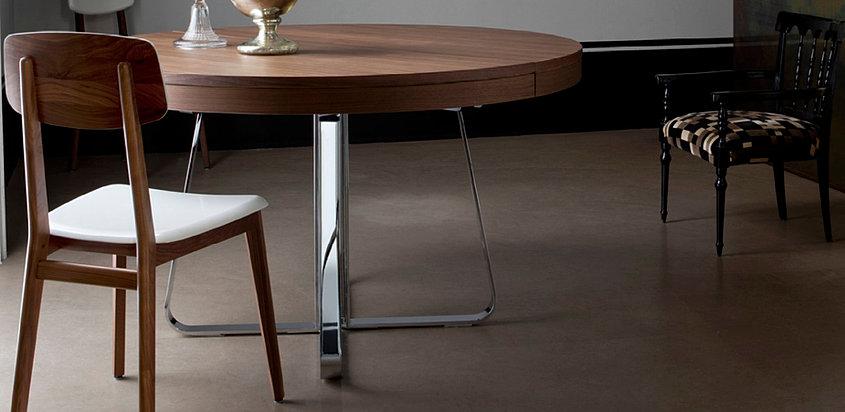 ligne roset esstisch ava. Black Bedroom Furniture Sets. Home Design Ideas