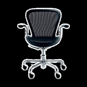 Der drehbare Bürostuhl ANNETT auf 5 Rollen besticht durch seinen herausragendem Sitzkomfort. ANNETT ist in den Farben Beige, Schwarz und Violett erhältlich. Die Sitzhöhe ist durch einen Pneumaten individuell verstellbar. Die Armlehnen bestehen aus texturiertem Polyurethan-Integralschaum, der Sitz aus formstabilen Netzgewebe.