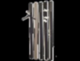 Schlicht und ergreifend: Die Wandgarderobe LINE von SCHÖNBUCH bietet viel Platz für allerlei Jacken und Taschen. Der Klapphaken ist in Chrom matt oder Hochglanz erhältlich. LINE ist in einer schier endlos scheinenden Vielzahl an Farbausführungen lieferbar und kann miteinem Jacken- sowie Schuhschrank und verschiedenen Ausführungen von Spiegeln kombiniert werden. Als Limited Edition in Rainbow-Farben ist LINE ein Eyecatcher für jeden Betrachter.