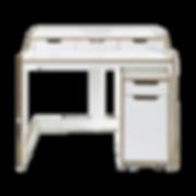Der Sekretär PLANE von MÜLLER MÖBELWERKSTÄTTEN besticht durch seine filigrane Ausstrahlung. PLANE ist aus Birkenschichtholz mit einer hochstrapazierfähigen CPL-Beschichtung. Links und rechts befinden sich zwei lose Schubladen, in der Mitte gibt es eine Öffnung, die als Kabeldurchlass dient. Die ideale Ergänzung zum PLANE Sekretär sind die Rollcontainer aus gleichem Material.