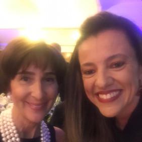 Viviane Senna, convidada para falar sobre 3º Setor, uma das principais ações de colaboração com os governos.