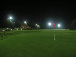 Golf centar Zaprešić po noći