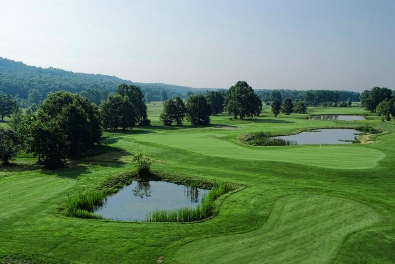 Krašić - pogled iz Golf kuće