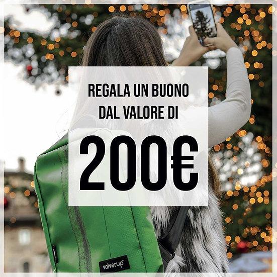 Buono regalo €200