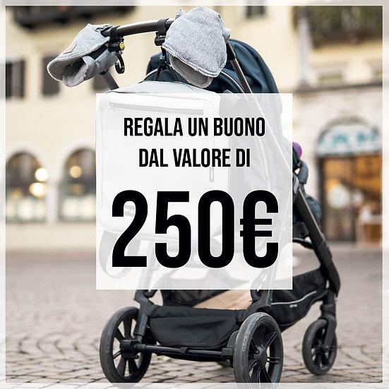 Buono regalo €250