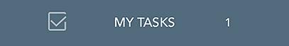 The My Tasks button.