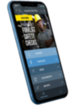 mobile field servies safety training app
