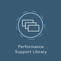 Performance Support Library icon.