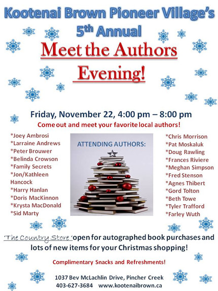 Meet the Authors Evening