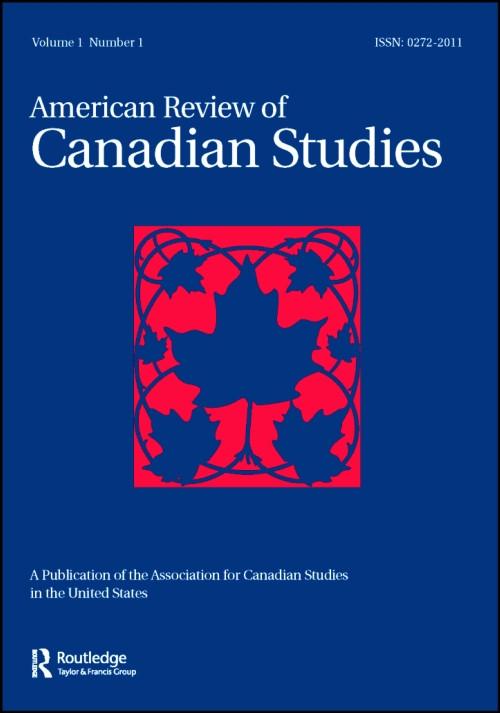 American Review of Canadian Studies