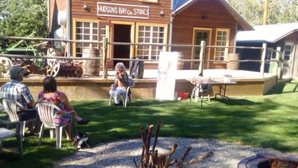 Kootenai Brown Pioneer Historical Village