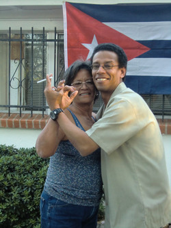 Reynaldo Gonzales & Mom Cuba Night