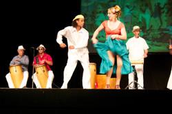 Reynaldo Gonzales & Eliza Butler dancers.