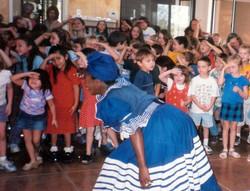 Susana Arenas at Montessori School
