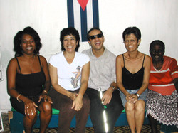 Margo & Manny at the ANCI in Havana