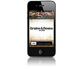 Beans & Grains: mobile app