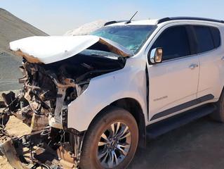 Urgente: Morre vítima de violento acidente