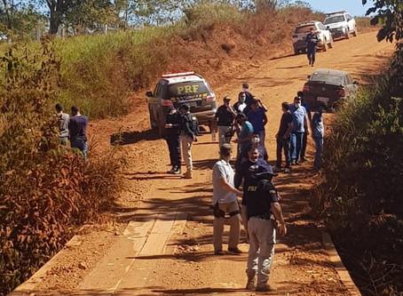 Casal de idosos desaparecido:PRF encontra veículo, prende 2 pessoas e desvenda latrocínio