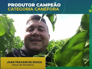 Produtor de Cacoal, RO, é um dos ganhadores do concurso nacional de qualidade do café