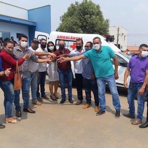 Emenda do deputado Lazinho da Fetagro garante ambulância e equipamentos agrícolas