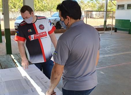 Novas salas de aula beneficiará alunos da rede municipal, da zona urbana e rural de Pimenta Bueno.
