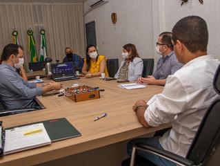 Gestores de Cacoal discutem ações de desenvolvimento econômico com membros da SEDI