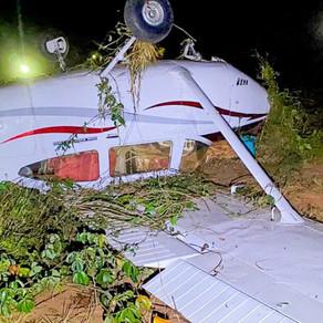 Urgente é preso no Nortão copiloto de avião interceptado pela FAB com 290 quilos de cocaína