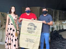 Miss Teen Rondônia Allana Rehfeld Visita Empresário Juan Travain