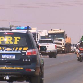 Acabam bloqueios em Mato Grosso nas BRs-163 e 364; último trecho liberado foi em Lucas do Rio Verde