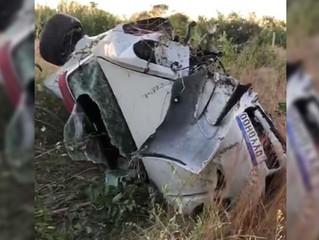 VÍDEO: Grave acidente de trânsito deixa jovens feridos na BR-230, próximo ao município de Aparecida