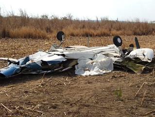 Perda de controle em voo pode ter provocado queda de avião que matou 3 que seguiam para o Nortão