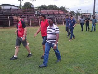Só na Bença define R$ 500 mil para recuperação do estádio de futebol, em Pimenta Bueno