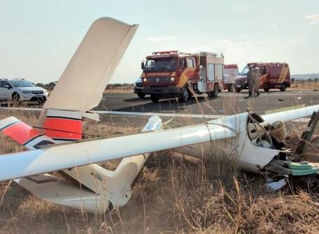 Urgente Piloto morre em queda de avião