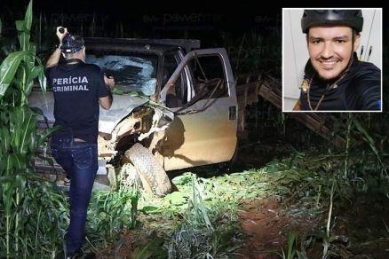 Motociclista morre em colisão com caminhonete no interior