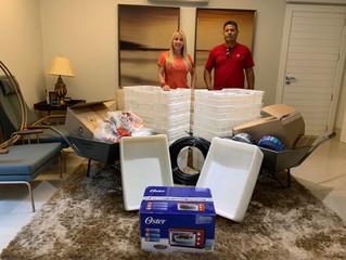 Ieda Chaves faz entrega de materiais para cooperativa da Reserva Cuniã