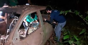 Urgente: Ossada humana é encontrada em caminhonete abandonada às margens de rodovia