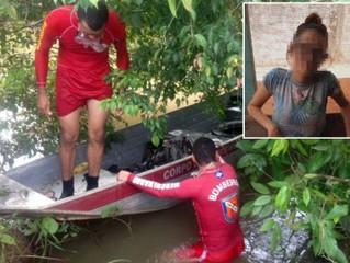 Urgente jovem morre em rio após salvar namorado que se afogava