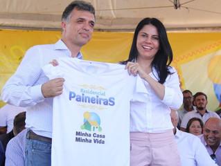 """PREFEITURA ENTREGA CASAS DO RESIDENCIAL PAINEIRAS AS 684 FAMÍLIAS CONTEMPLADAS PELO """"MINHA CASA, MIN"""