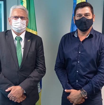 Prefeito Ney da Paiol consegue recurso para a prevenção da COVID-19