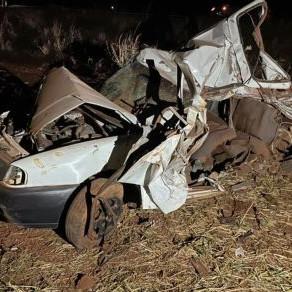 Acidente deixa seis mortos e quatro feridos