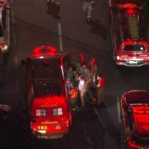 Homem morre após queda de marquise na rua Bela Cintra, em São Paulo