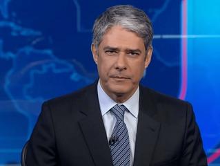 Receita Federal investiga William Bonner e outros 20 funcionários da TV Globo