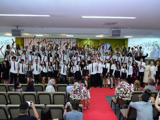 EDB forma 90 alunos do 9º ano